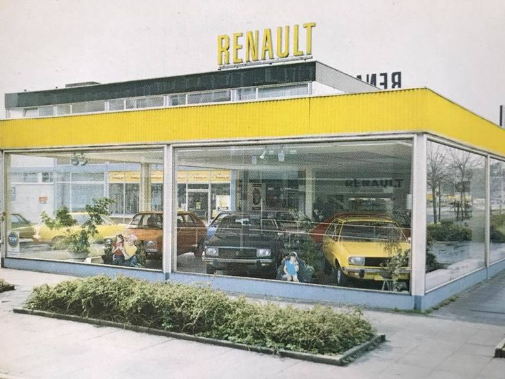Renault garage pinterest for Garage renault evrecy 14