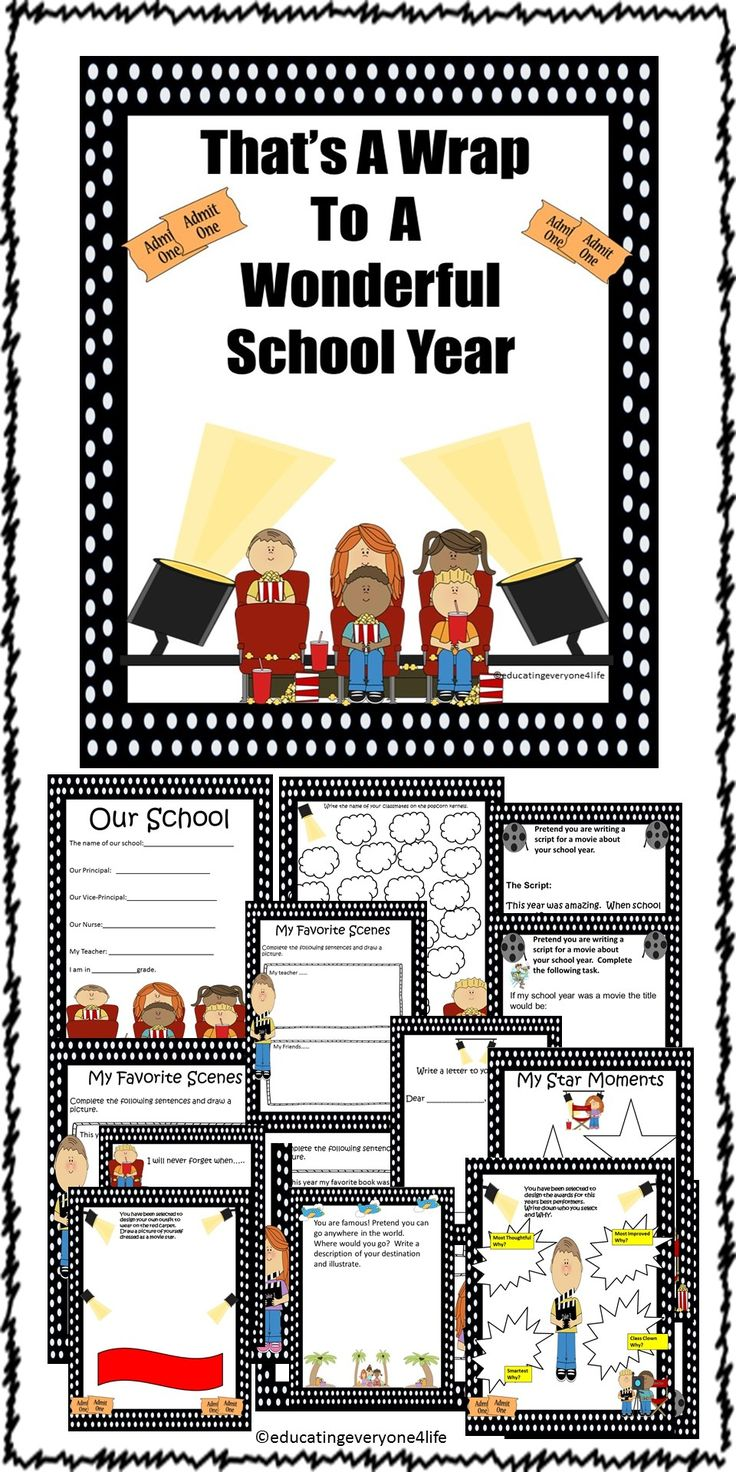 FREE END OF YEAR FREEBIE!! Enjoy this end of year activity book.