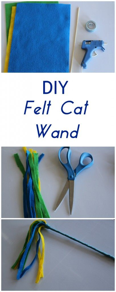 Best 25 felt cat ideas on pinterest for Diy cat wand