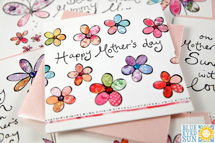 Sunshine Mother's Day card greeting range by Blue Eyed Sun