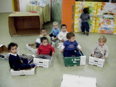 Escuela Infantil Talín: Contenedores espacios