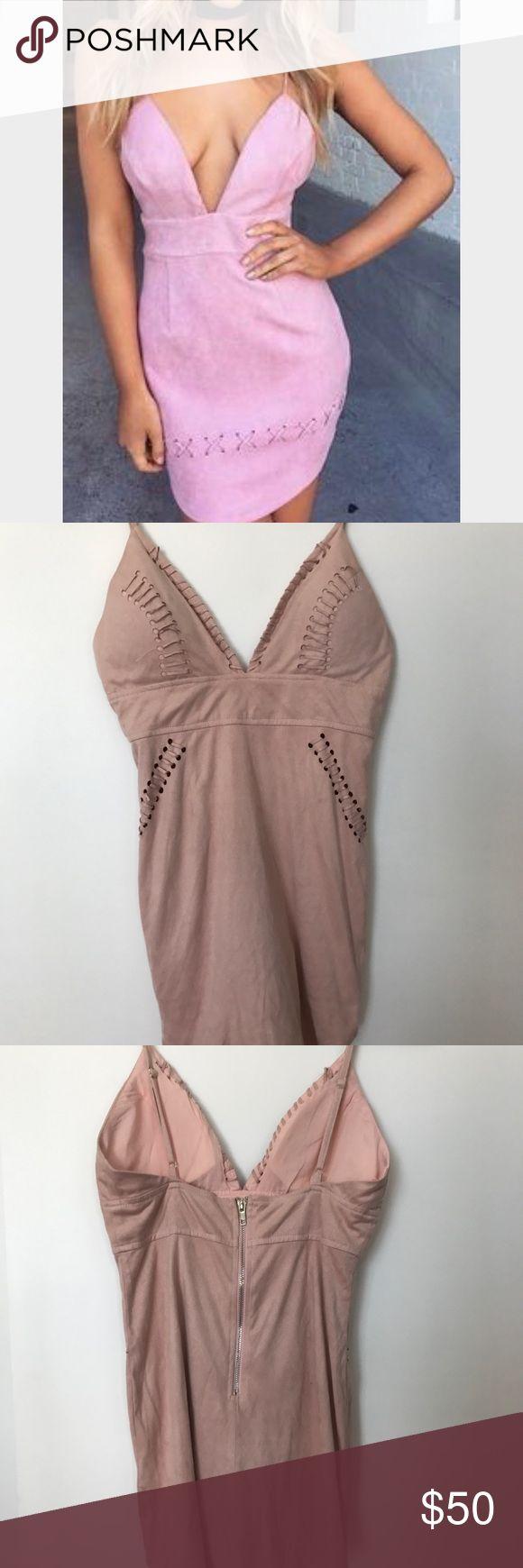 Tiger Mist suede dress Size S tiger mist Dresses Mini