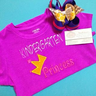 Perfect for a kindergarten first day of school shirt!