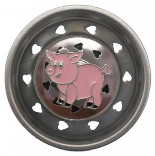 Pig Sink Stopper.  This would go well with some of my pig kitchen utensils/things.
