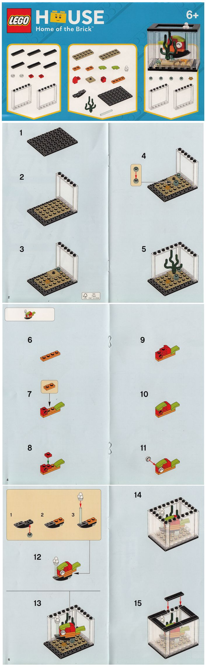 LEGO House Exclusive Pick-A-Model Instructions [News]