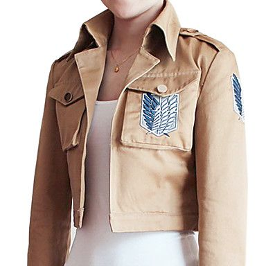 Attack on Titan Shingeki no Kyojin Eren Jager Scouting Corps Cosplay Jacket – CAD $ 47.26