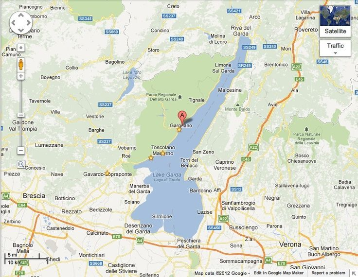 Bezauberndes Haus am Gardasee  Gargnano  - Karte: Gargnano, Gardasee