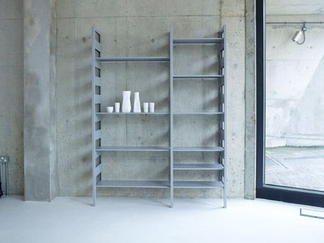 Parallel Shelving by Terence Woodgate - SCP at London Design Festival