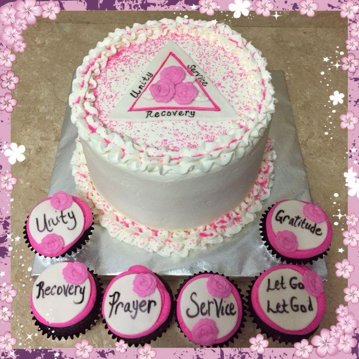 Sobriety Cake Amp Cupcakes My Cakes B Amp B S Creative