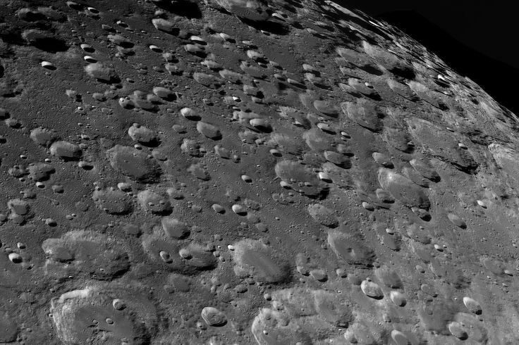 Winner Moon category. A great close up of the moon's rugged and crater-infested surface gossip about the past meteor- and asteroid impacts. Photo: Jordi Delpeix Borrell.