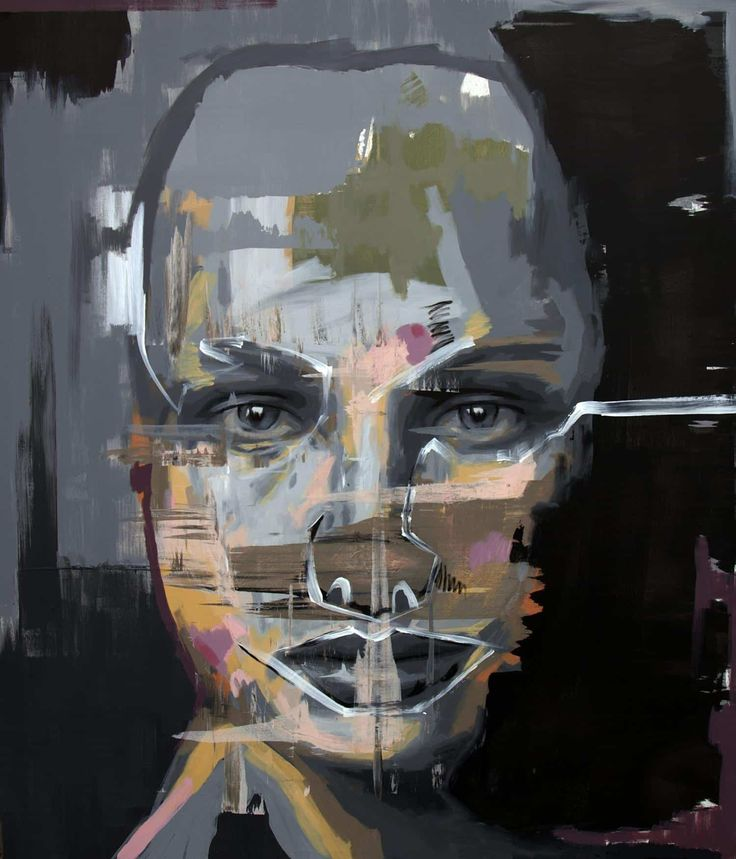 FineArtSeen.com - View Sneer by Vladinsky. Discover more Acrylic Expressionist Portrait Paintings for sale. FREE Delivery and 14 Day Returns.