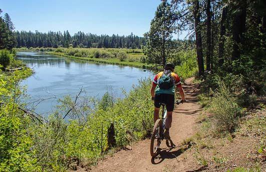 Dechutes River Mountain BIke Trail Bend Oregon
