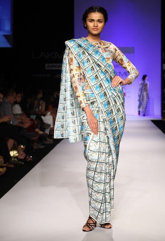Lakmé Fashion Week – Aartivijay Gupta LFW SR 2013
