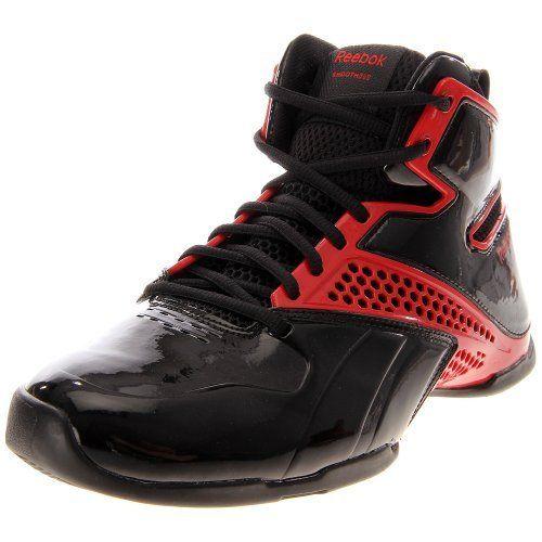 Reebok Still Talking Black/Red Basketball Shoes men's 7.5 Reebok. $32.99