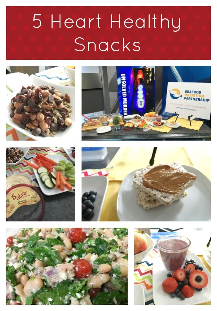 5 Heart Healthy Snacks @Basilmomma @Seafood4Health #Seafood2xWKIND @Fox59 @Sabra