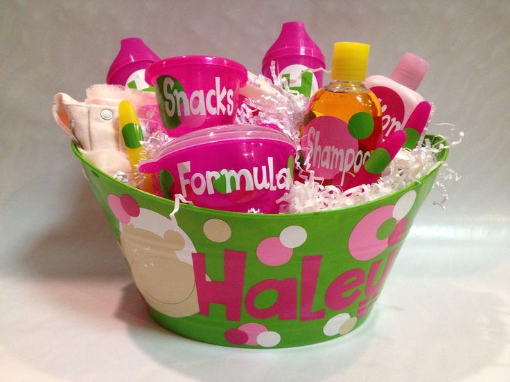 132 best i love gift baskets images on pinterest gift basket ideas baby gift basket negle Gallery
