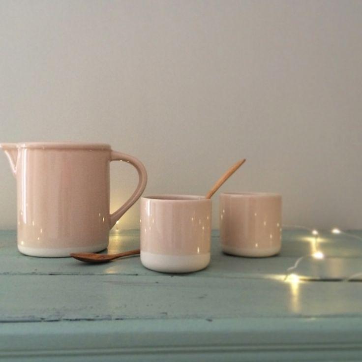 jars céramique – Gobelet 8,40 €, mug 18,50 €, pichet 28 €, en vente sur Le repère des Belettes
