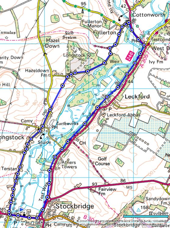 Enjoy theHampshire countryside with this walk around