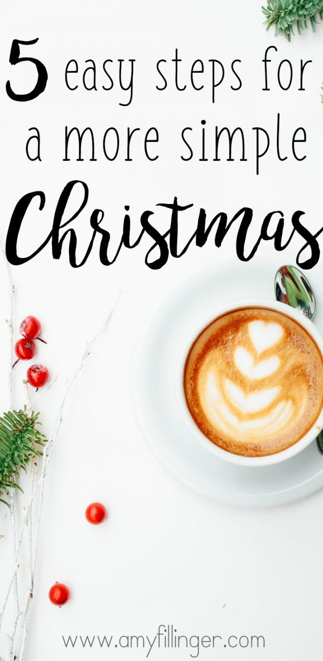Are you looking to have a simple Christmas this year? Why not take a minimalist approach to Christmas and remember that time is the most valuable gift of all! Here are 5 easy tips for a simple Christmas this year.