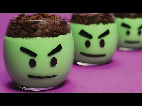 """Make these natural Vanilla for Lego """"Emmet Head"""" Yogurt or pudding cups!"""