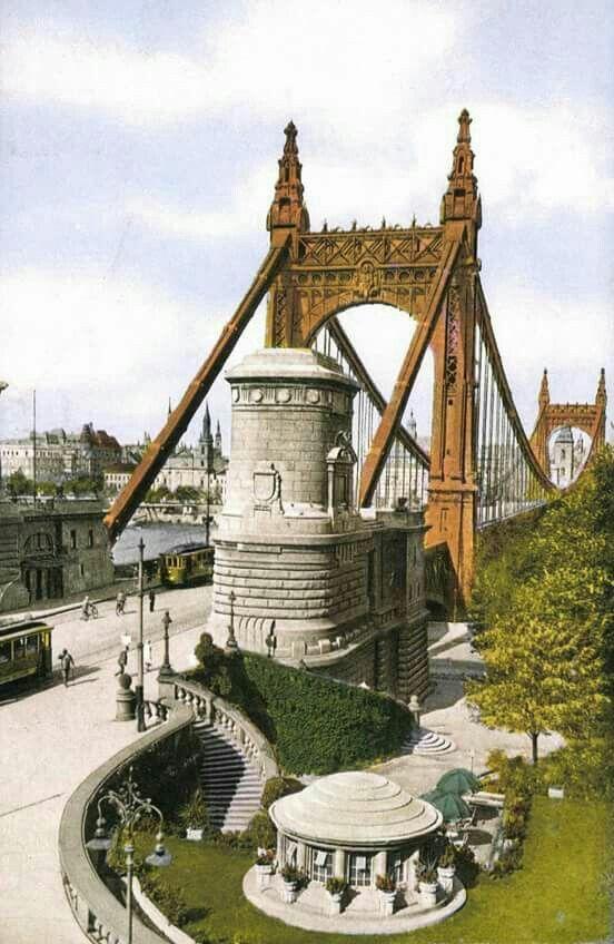 1928 Erzsébet híd, Budapest