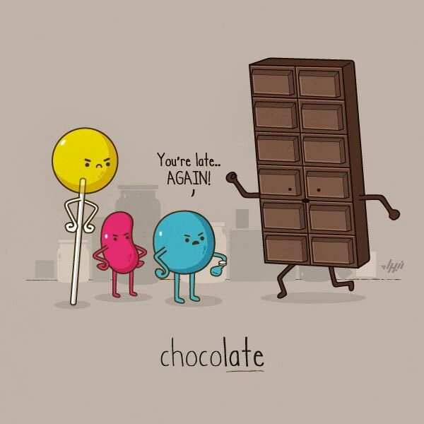 Chocolate Bar Captions