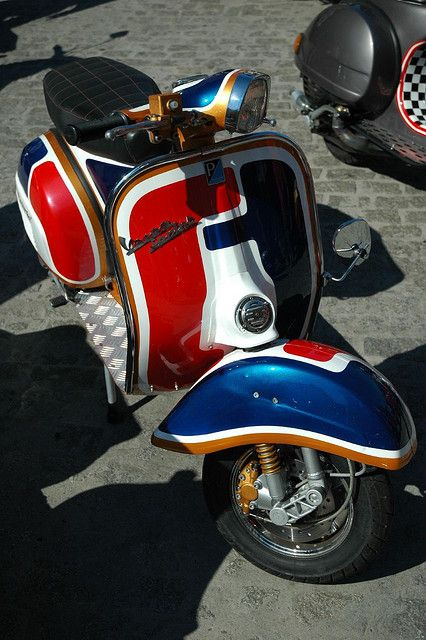Vespa Rally - Gijon, Spain