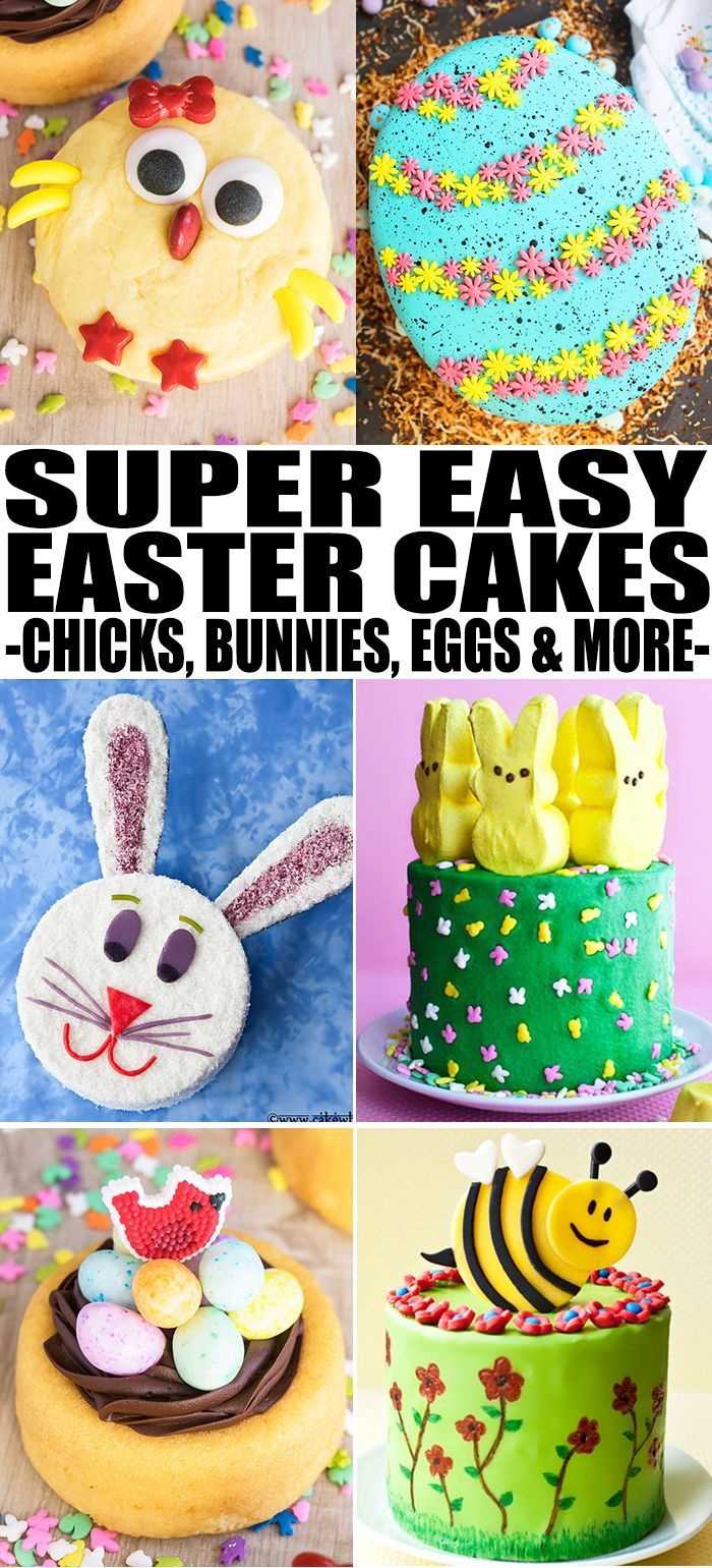 Collection Of Quick And Easy Easter Cake Ideas Cake Decorating