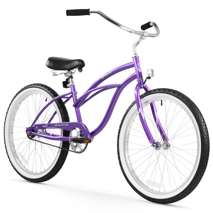 "24"" Firmstrong Urban Lady Single Speed Women's Beach Cruiser Bike,"