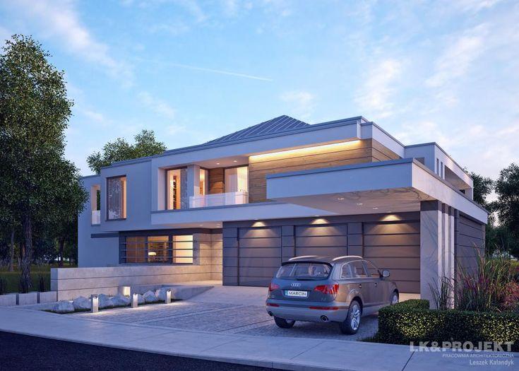 Projekty domów LK Projekt LK&1231 zdjęcie wiodące