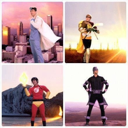 Big Time Superheroes<3