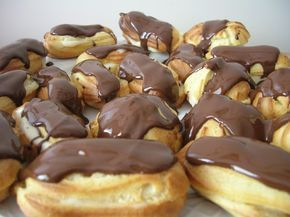 Rellenos de crema pastelera... mi pasión***