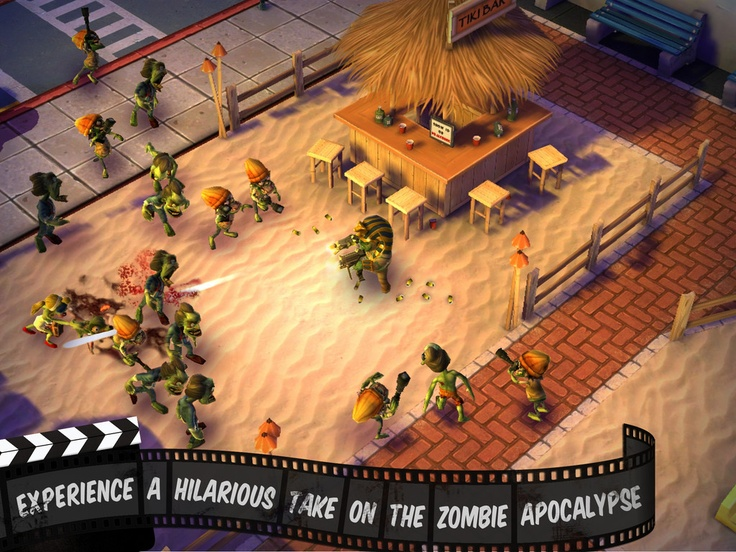 Zombiewood « FreeOnAppStore  ios game free zombi iphone ipad gameloft