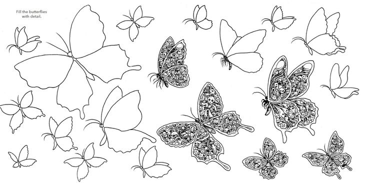 coloring pages of random stuff - photo#25