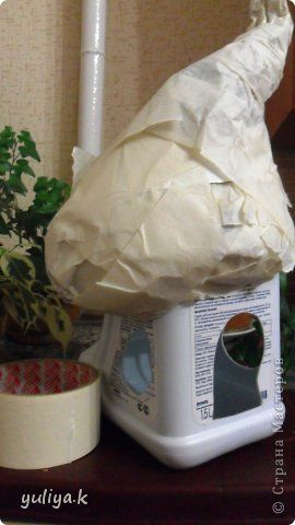 Поделка изделие Лепка соленый домик2 Тесто соленое фото 3