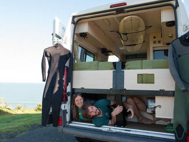 Piwiwiwi campervan hire in nz specialise in vans for for Bathroom storage ideas new zealand