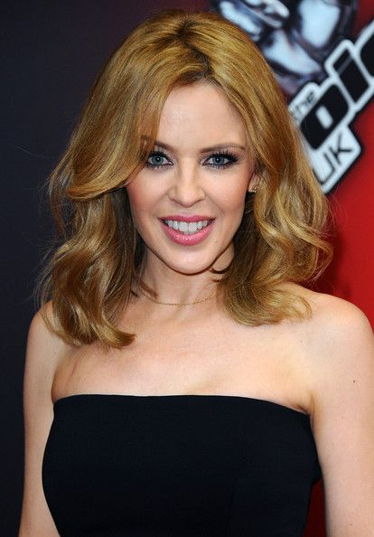 Kylie Minogue attends the red carpet launch for 'The Voice UK' at BBC Broadcasting House on January 6, 2014 in London, England.