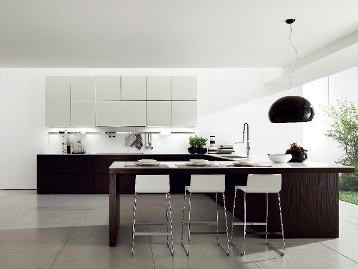 Contemporary Style Fitted Kitchen ALINEAL   Euromobil
