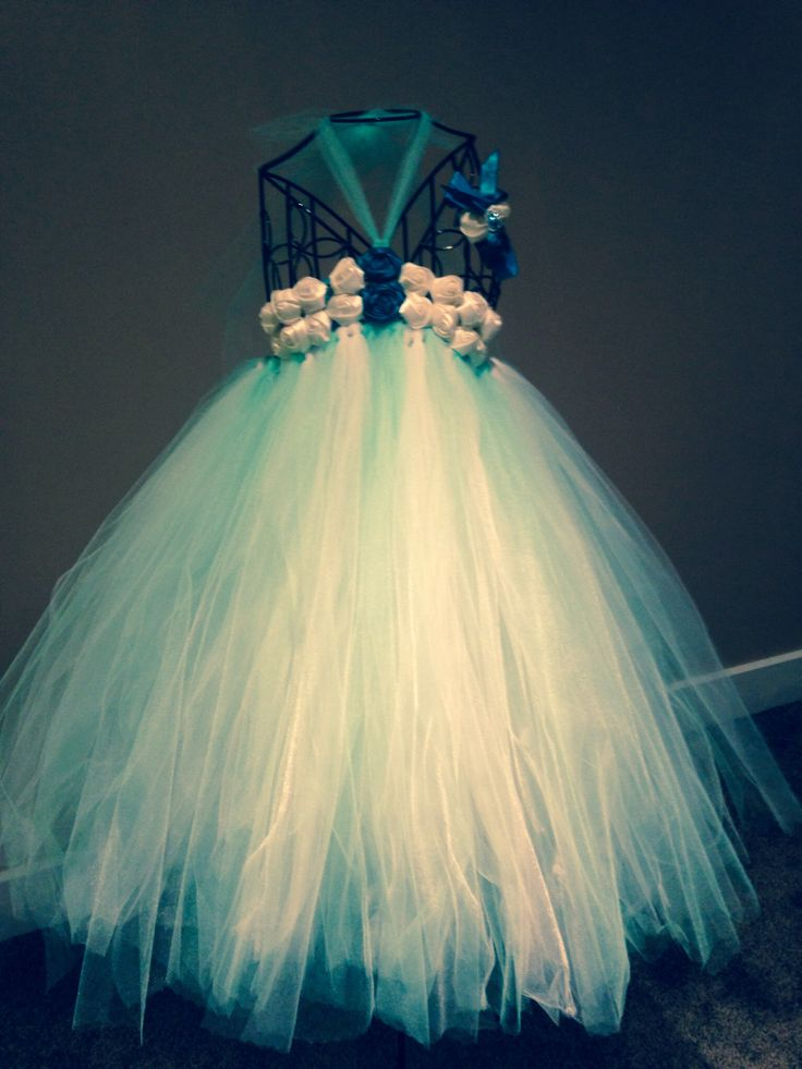 Made this tutu dress for a little girl to wear on her big day ❤️❤️