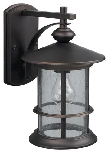 Treehouse 1-Light  8w x 13h Oil Rubbed Bronze Outdoor Downlight at Menards $29