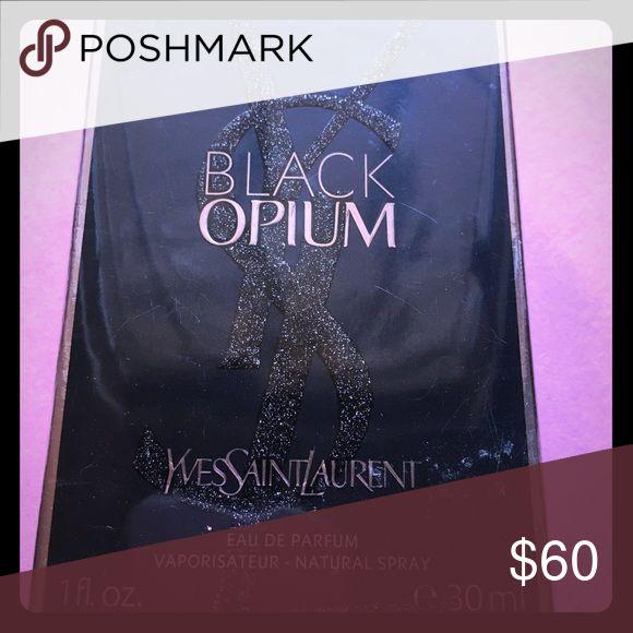 Black Opium Eau De Parfum 1 fl oz. 30 ml.  YSL. Brand new item.  Never used.  Eau De Parfum spray.  Reg retail is $69. Yves Saint Laurent Other