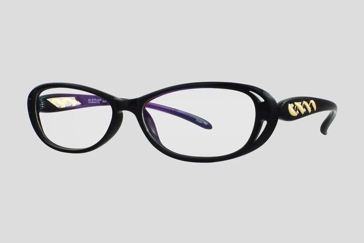 #Brillen van Reor. Dit is de Calandre (art. nr. F10.715FBL), complete bril vanaf € 29,90. #Montuur van zwart plastic. Verkrijgbaar in meerdere kleuren.