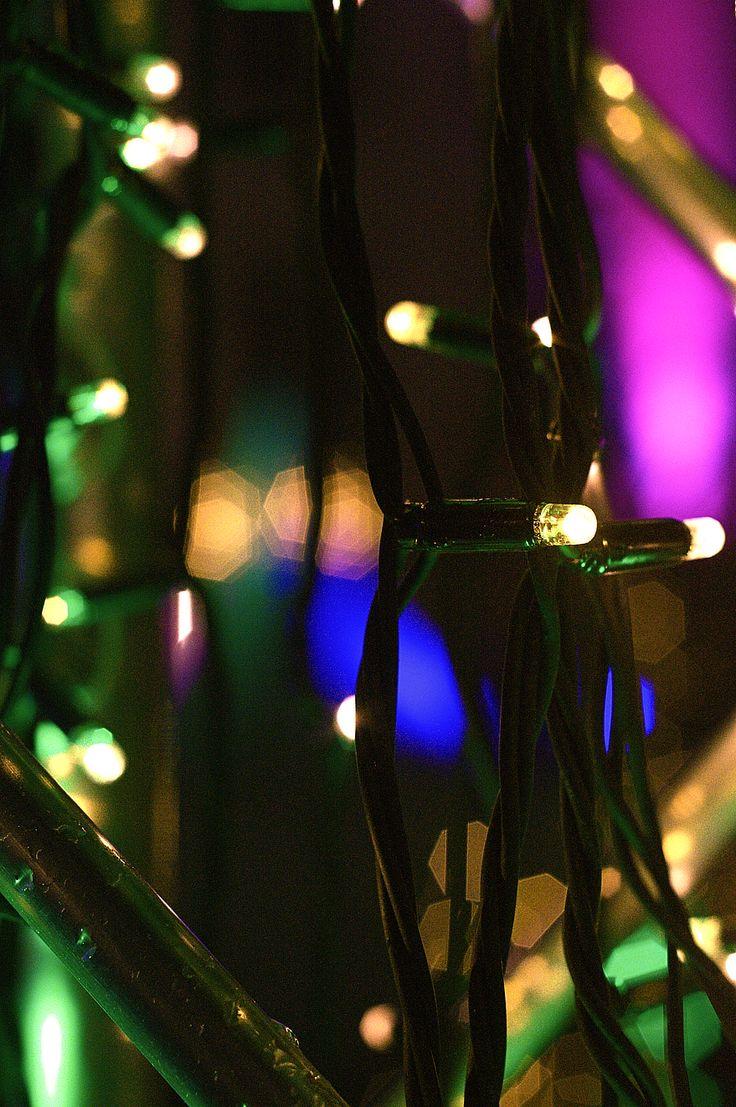 christmas lights on Kornmarkt Heidelberg