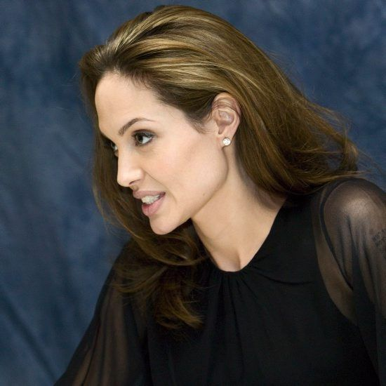 """Angelina Jolie promoting """"Beowulf"""" in Hollywood, California. October 29, 2007 *** NO TABS ... 8531 Santa Monica Blvd West Hollywood, CA 90069 - Call or stop by anytime. UPDATE: Now ANYONE can call our Drug and Drama Helpline Free at 310-855-9168."""