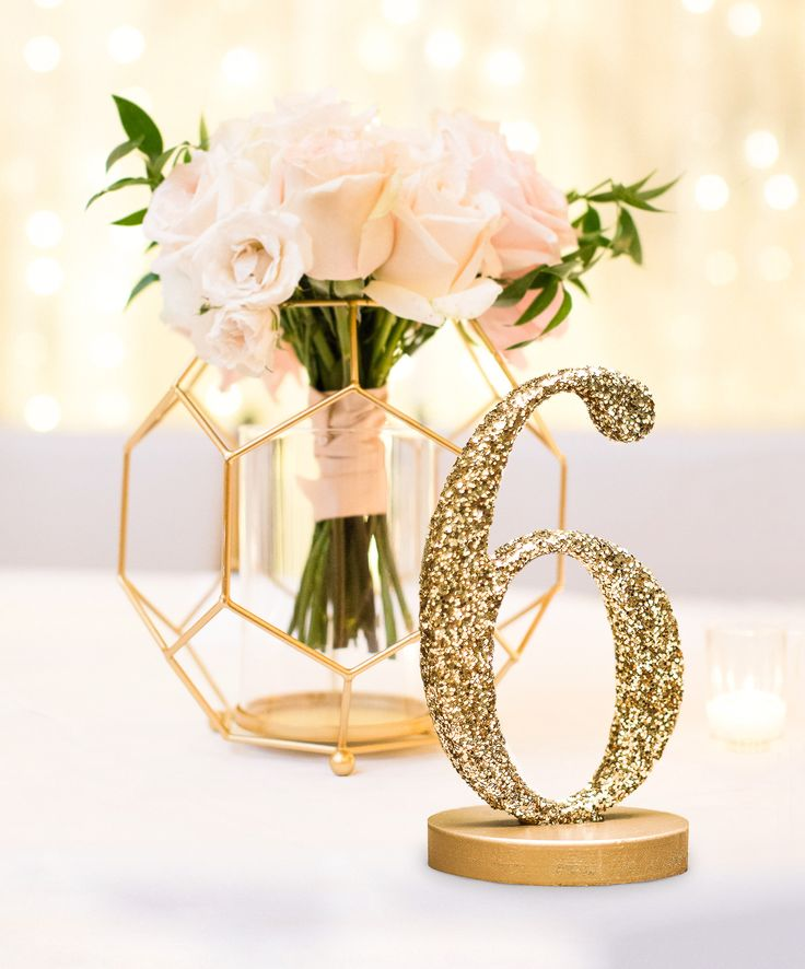 How this Etsy Wedding Shop's Customer Service Tops All and They're Quickly Becoming the #1 Wedding Decor Store   Shop Glitter Table Numbers & Other Handmade Wedding Ideas at www.ZCreateDesign.com or ZCreateDesign on Etsy