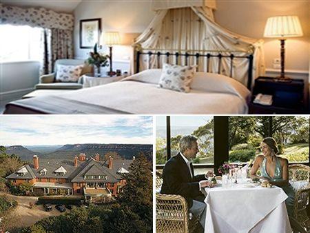 Lilianfels Blue Mountain Hotel, Blue Mountain Australia. Yes please
