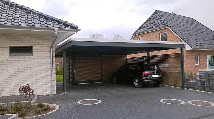 die 25 besten carport mit schuppen ideen auf pinterest garage mit carport hausbau ideen und. Black Bedroom Furniture Sets. Home Design Ideas