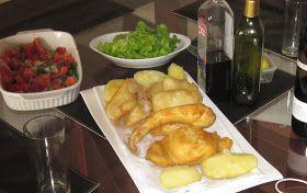 """En SEMANA SANTA es unatradicióncomer pescado   y en Chile disfrutar de un trozo de congrio """"dorado"""" frito   es una delicia"""