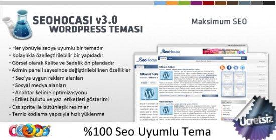 SeoHocası v3 Full Seo Uyumlu Ücretsiz Türkçe WordPress Teması   Zaman Teknoloji