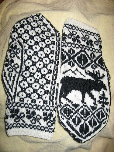 Knitting Pattern For Moose Hat : moose pattern - Google Search Inspiration: North Woods Pinterest Fair i...